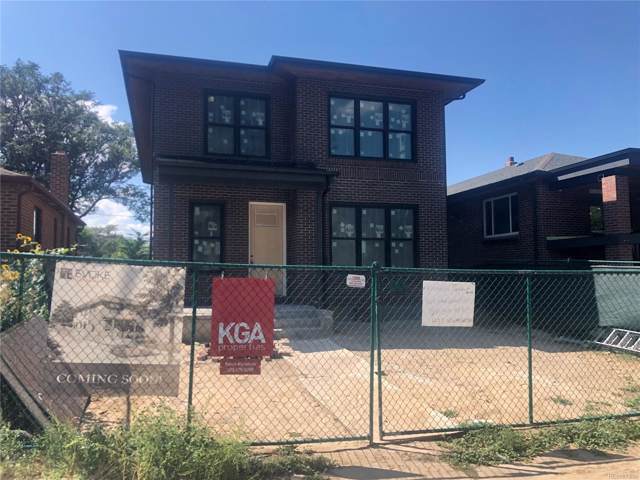 435 Washington Street, Denver, CO 80203 (MLS #1631259) :: 8z Real Estate