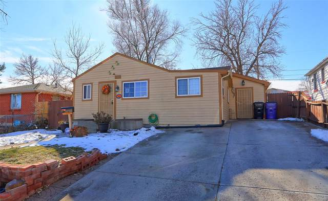 3394 W Center Avenue, Denver, CO 80219 (MLS #1744109) :: 8z Real Estate