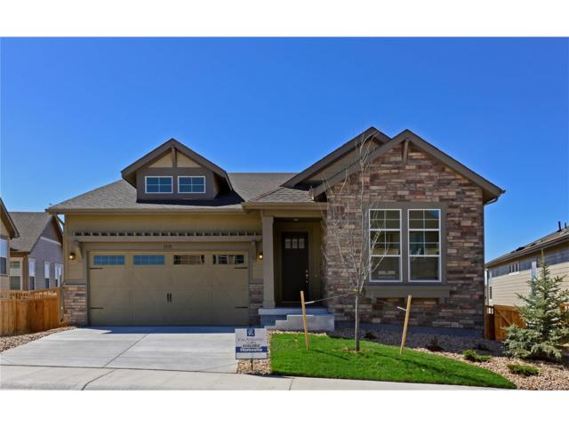3315 Fitch Street, Castle Rock, CO 80109 (MLS #2002136) :: 8z Real Estate