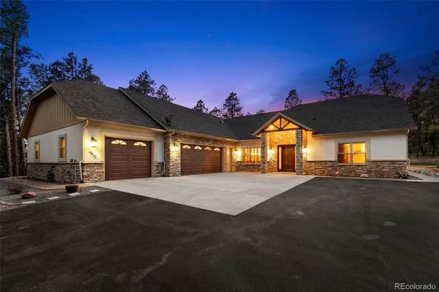 4810 Hidden Rock Road, Colorado Springs, CO 80908 (#2050205) :: Mile High Luxury Real Estate