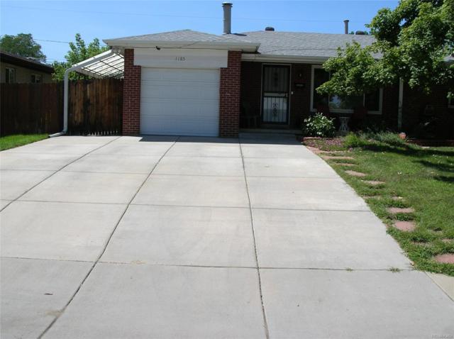 1185 S Harlan Street, Lakewood, CO 80232 (#2088332) :: The Peak Properties Group