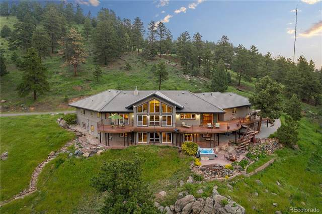 180 Enchanted Road, Golden, CO 80401 (#2196074) :: The Colorado Foothills Team   Berkshire Hathaway Elevated Living Real Estate