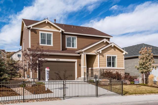 6275 Agave Avenue, Castle Rock, CO 80108 (#2208664) :: The Heyl Group at Keller Williams