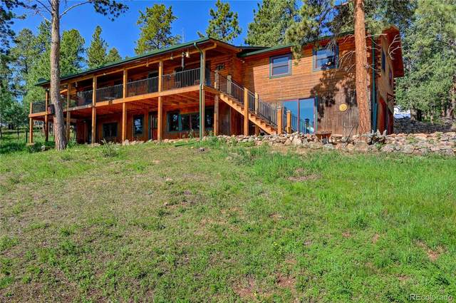325 Road D, Pine, CO 80470 (#2391444) :: Finch & Gable Real Estate Co.