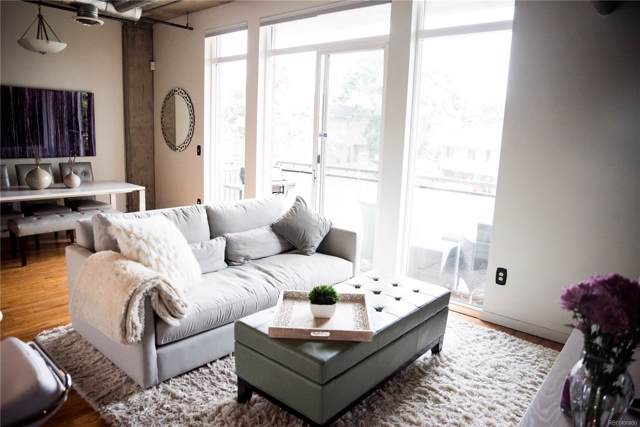 3201 Shoshone Street #104, Denver, CO 80211 (MLS #2393216) :: 8z Real Estate