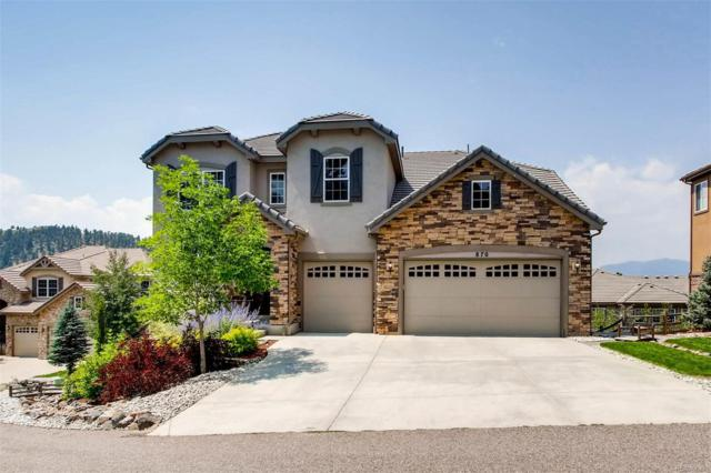 870 Elk Rest Road, Evergreen, CO 80439 (#2429491) :: The City and Mountains Group