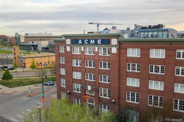 1616 14th Street 1E, Denver, CO 80202 (#2570818) :: Briggs American Properties