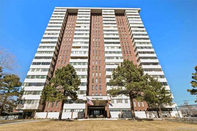 3131 E Alameda Avenue #802, Denver, CO 80209 (#2628444) :: Chateaux Realty Group