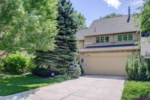 4530 S Verbena Street #336, Denver, CO 80237 (#2743609) :: Bring Home Denver
