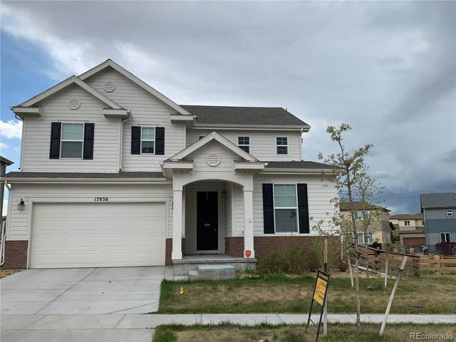 17858 E 108TH Place, Commerce City, CO 80022 (MLS #2775071) :: 8z Real Estate