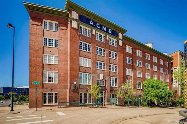 1616 14th Street 1D, Denver, CO 80202 (#2985339) :: Bring Home Denver with Keller Williams Downtown Realty LLC