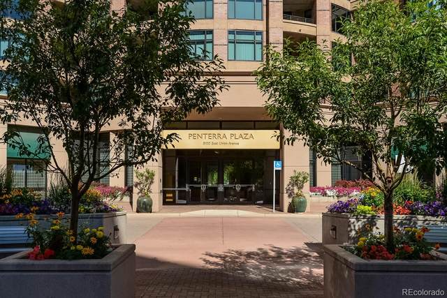 8100 E Union Avenue #1107, Denver, CO 80237 (#2993885) :: Kimberly Austin Properties