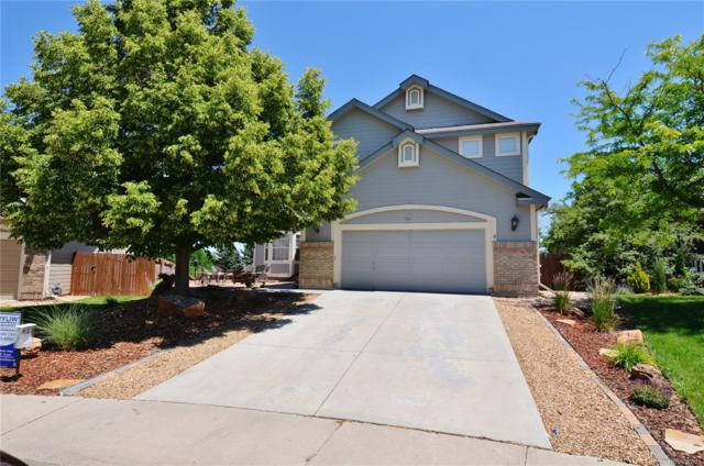 8841 Fairway Oaks Way, Lone Tree, CO 80124 (#3073882) :: The Griffith Home Team