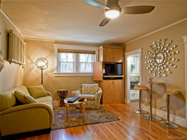 504 Pearl Street #3, Denver, CO 80203 (#3100590) :: The Griffith Home Team