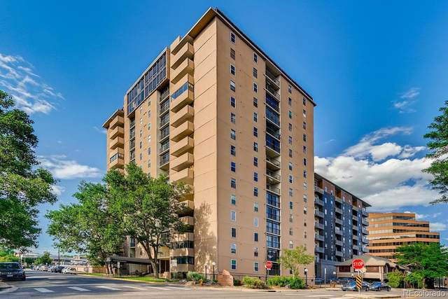 2 Adams Street #110, Denver, CO 80206 (#3121383) :: The HomeSmiths Team - Keller Williams
