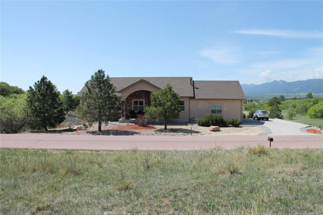 18945 Spring Valley Road, Monument, CO 80132 (#3147332) :: The DeGrood Team