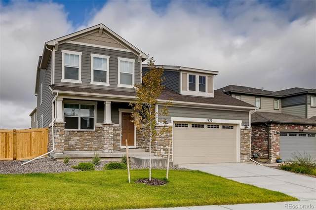 11439 Brush Creek Street, Parker, CO 80134 (#3183085) :: The DeGrood Team