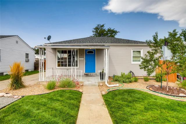 11 S Perry Street, Denver, CO 80219 (#3188423) :: The Peak Properties Group