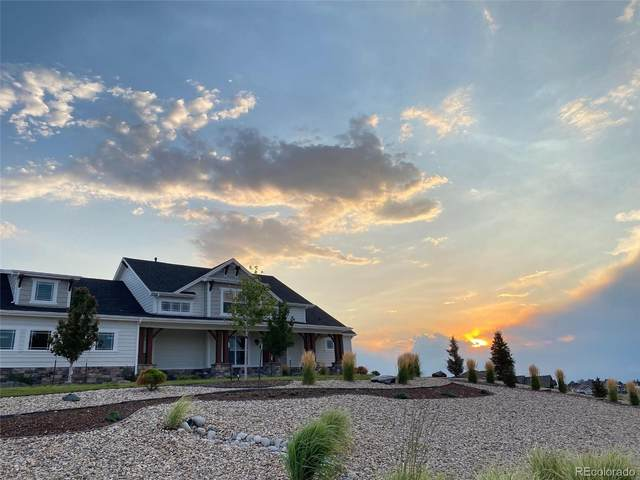 7871 Merryvale Trail, Parker, CO 80138 (#3274378) :: The DeGrood Team