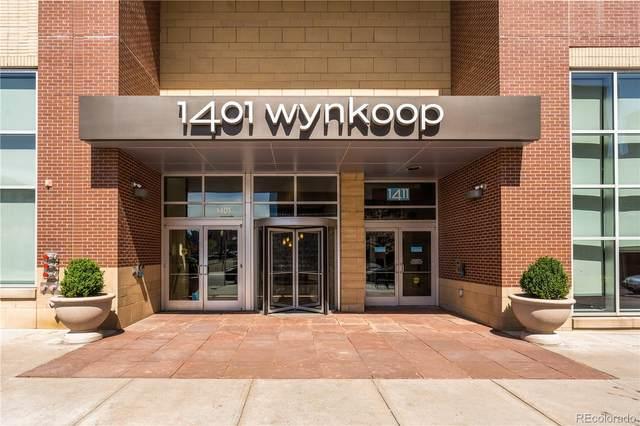 1411 Wynkoop Street #901, Denver, CO 80202 (#3287787) :: Chateaux Realty Group