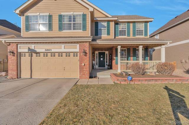 24023 E Winter Springs Place, Parker, CO 80138 (#3289658) :: The Healey Group