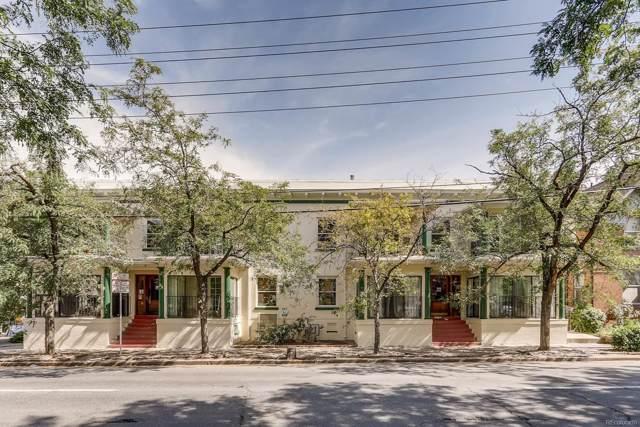 1315 E 13th Avenue #9, Denver, CO 80218 (#3314358) :: The HomeSmiths Team - Keller Williams