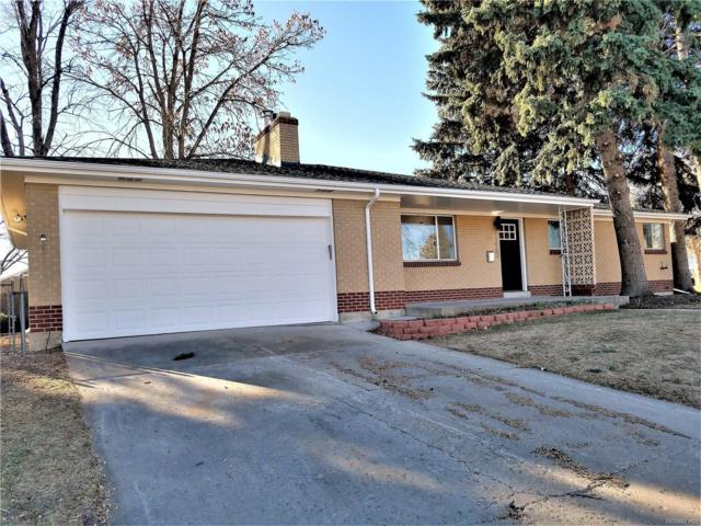 11962 W 60th Place, Arvada, CO 80004 (#3365756) :: The Griffith Home Team