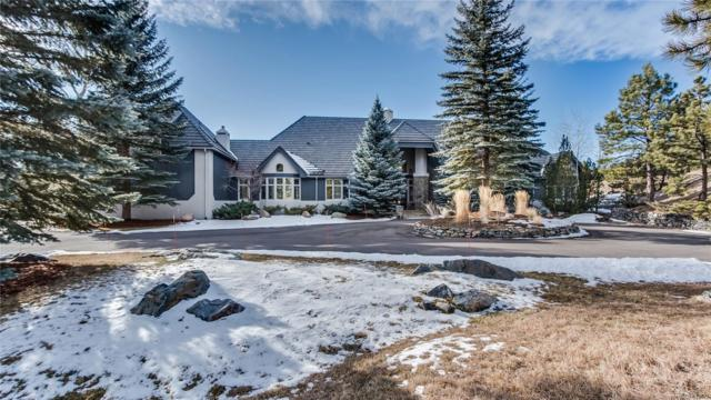 7187 Timbers Drive, Evergreen, CO 80439 (#3400775) :: The Peak Properties Group