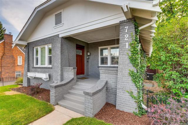 721 S Grant Street, Denver, CO 80209 (#3535640) :: HomePopper
