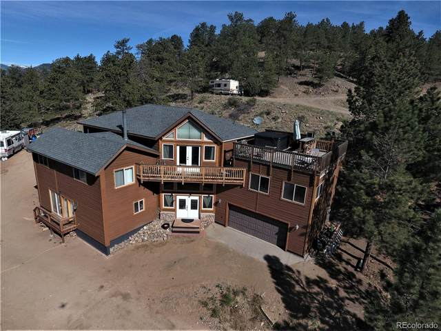 696 Dick Mountain Drive, Bailey, CO 80421 (#3580528) :: Kimberly Austin Properties