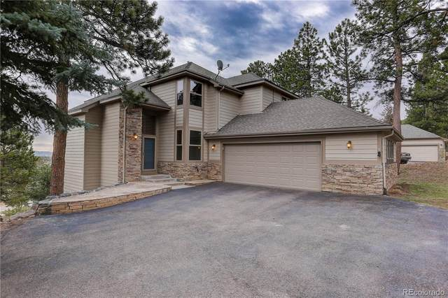 3462 Overlook Trail, Evergreen, CO 80439 (#3639972) :: The Dixon Group