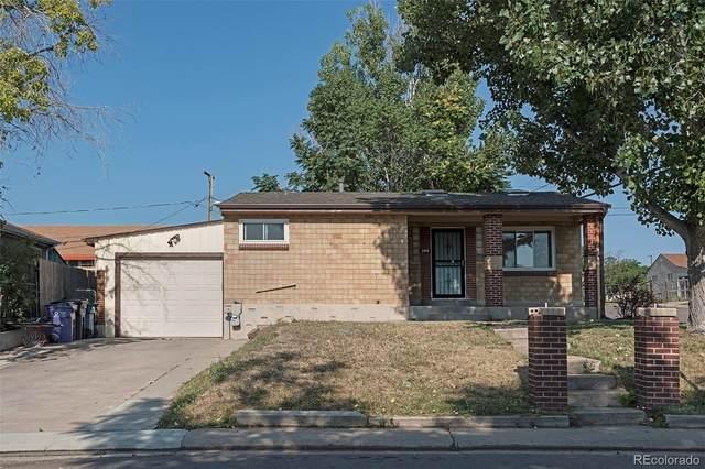 209 S Zenobia Street, Denver, CO 80219 (#3661321) :: Own-Sweethome Team