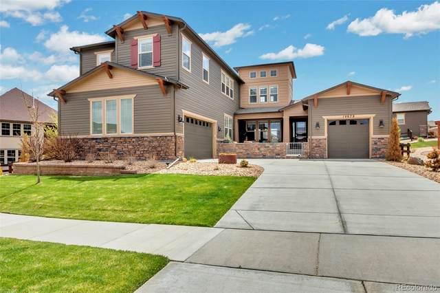 14678 Saddlebred Avenue, Parker, CO 80134 (#3784735) :: The HomeSmiths Team - Keller Williams