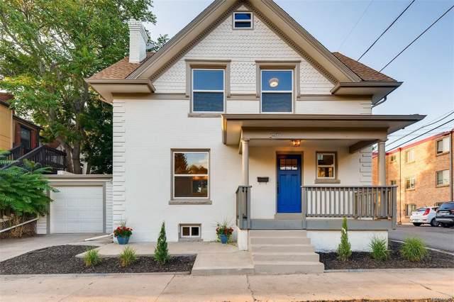 2417 E 12th Avenue, Denver, CO 80206 (#3819144) :: Wisdom Real Estate