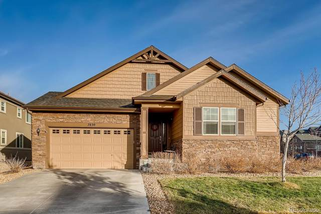 7830 S Queensburg Way, Aurora, CO 80016 (#4114889) :: The DeGrood Team