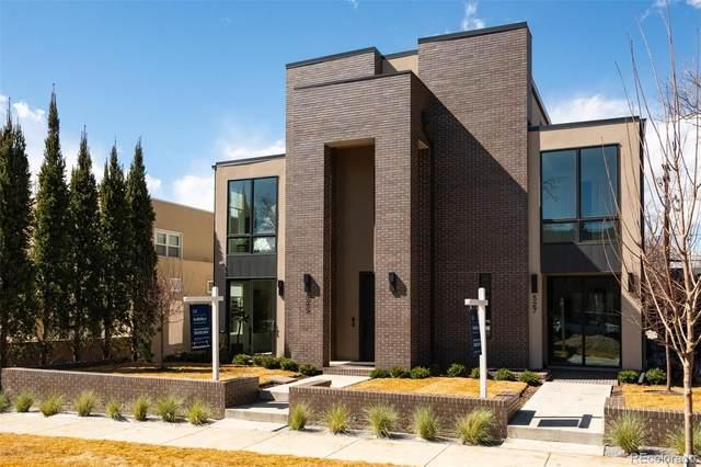527 Columbine Street, Denver, CO 80206 (#4205010) :: The Brokerage Group