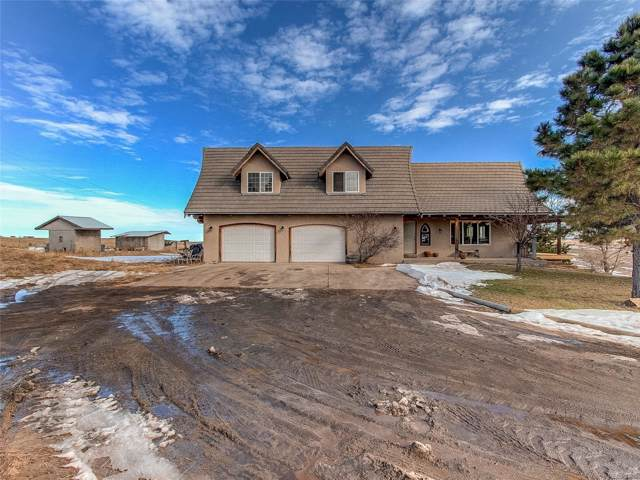 38245 County Road 29, Elizabeth, CO 80107 (#4225383) :: The DeGrood Team