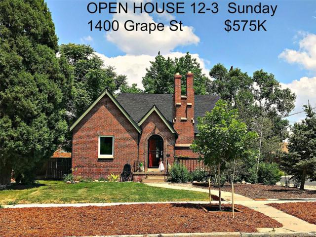 1400 Grape Street, Denver, CO 80220 (#4303716) :: Wisdom Real Estate