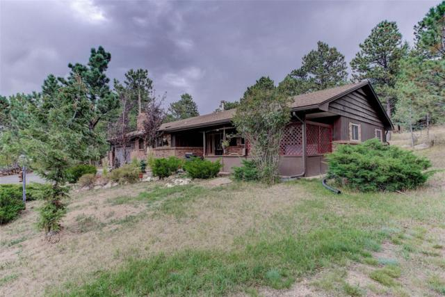 3588 S Saddle Road, Evergreen, CO 80439 (#4371043) :: The Heyl Group at Keller Williams