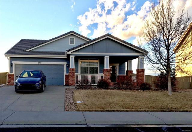 305 Ellendale Street, Castle Rock, CO 80104 (MLS #4404723) :: Bliss Realty Group
