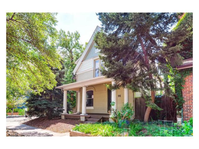 91 S Sherman Street, Denver, CO 80209 (MLS #4518460) :: 8z Real Estate
