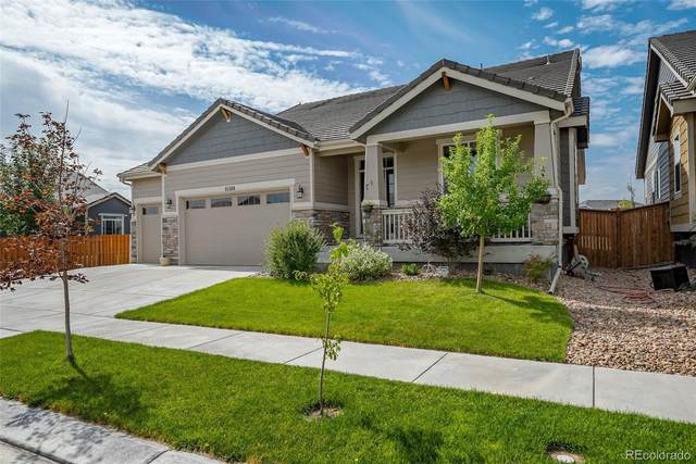 15564 E 115th Avenue, Commerce City, CO 80022 (#4593481) :: The Heyl Group at Keller Williams