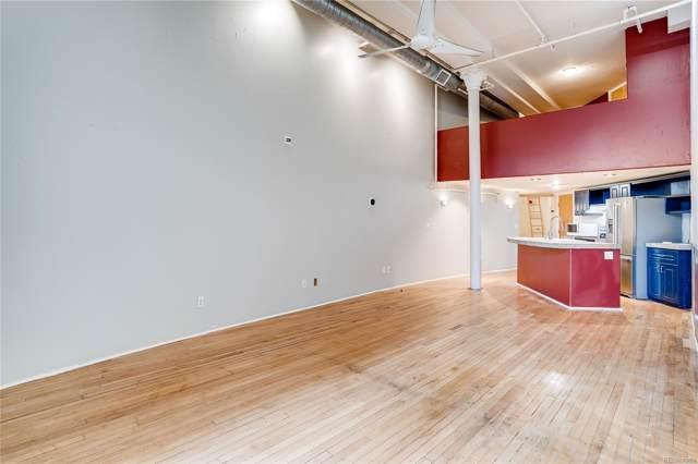 1617 California Street 2E, Denver, CO 80202 (#4622199) :: The Peak Properties Group