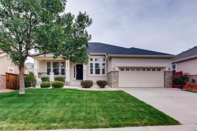 20941 E Greenwood Drive, Aurora, CO 80013 (#4630441) :: The HomeSmiths Team - Keller Williams