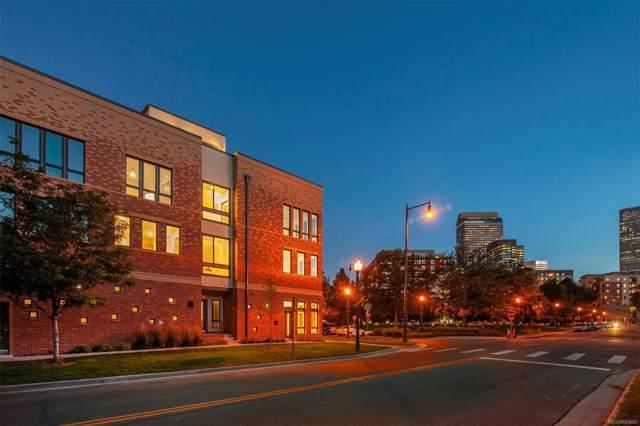 2200 Tremont Place #1, Denver, CO 80205 (#4634995) :: Mile High Luxury Real Estate