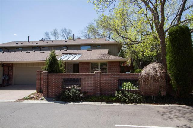 2800 S University Boulevard #32, Denver, CO 80210 (#4666356) :: Wisdom Real Estate
