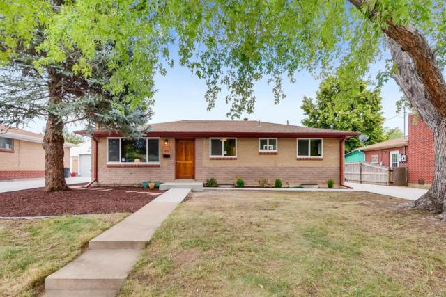 1572 S Benton Street, Lakewood, CO 80232 (#4689594) :: The Peak Properties Group