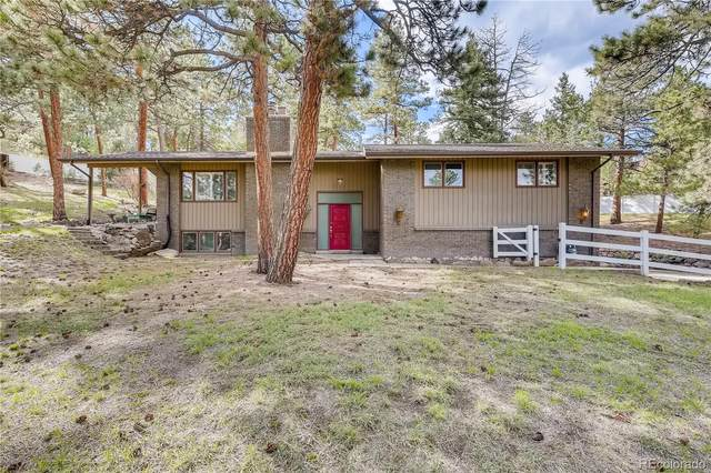 3605 Valley Drive, Evergreen, CO 80439 (#4711031) :: The DeGrood Team