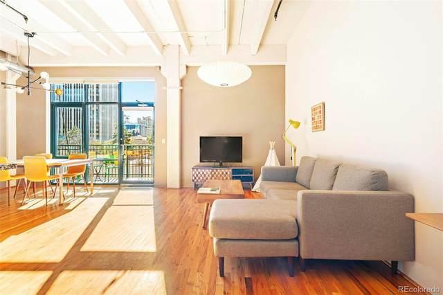 1800 Lawrence Street #307, Denver, CO 80202 (#4826707) :: Berkshire Hathaway HomeServices Innovative Real Estate
