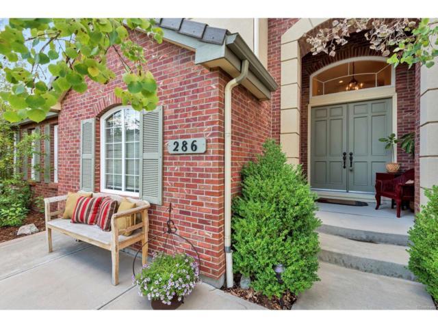 286 Claymoor Court, Castle Pines, CO 80108 (MLS #4847940) :: 8z Real Estate